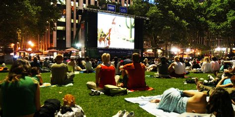 backyard the movie best outdoor movie screenings in nyc business insider
