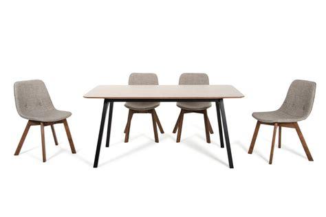 Sesame Furniture by Modrest Laken Modern Walnut Sesame Dining Set