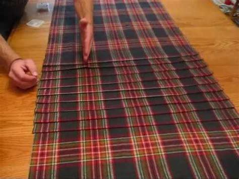 sewing pattern kilt making of the kilt youtube