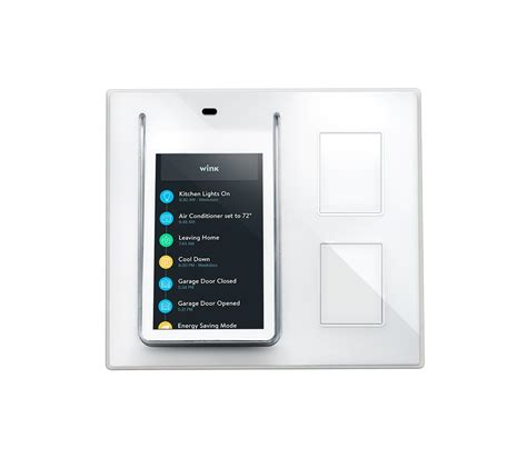 smart light switch home wink relay smart home wall controller for connected homes