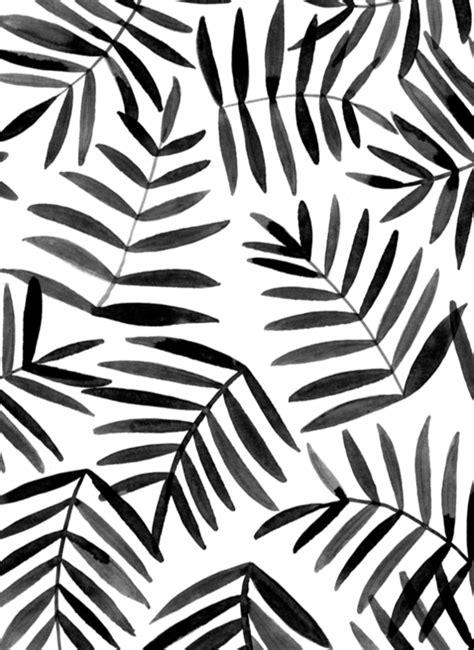black and white pattern artists black leaves ink pattern pattern pinterest leaves
