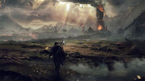 wallpaper middle earth middle earth shadow of mordor wallpaper 18964