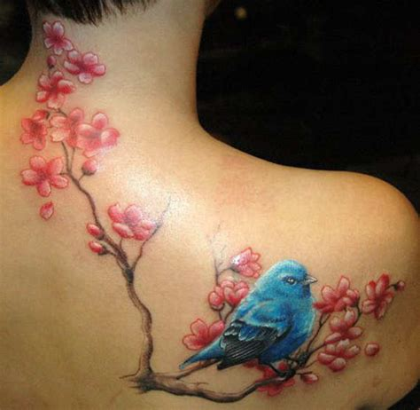 cherry blossom side tattoo designs 33 pretty cherry blossom tattoos and designs