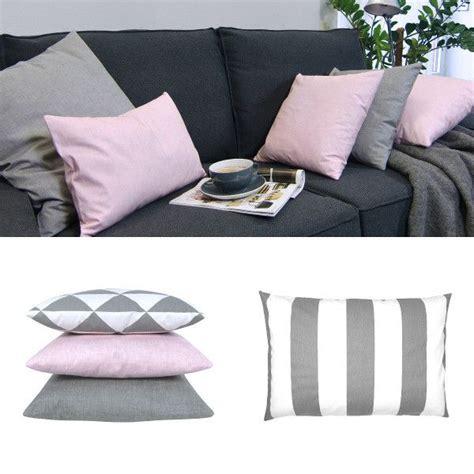 kissenbezug grau rosa kissenh 252 lle sparks grau wei 223 feuerwerksblumen 60 x 60 cm