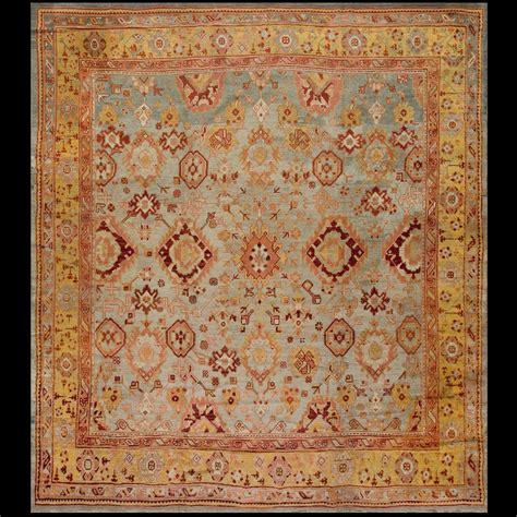 Decorative Rugs by Antique Oushak Rug 18464 Turkish Decorative 11 4 X