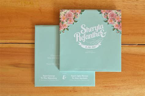 Papery Wedding Invitation Bandung by Kyub Sheryta Refantho Wedding Invitation