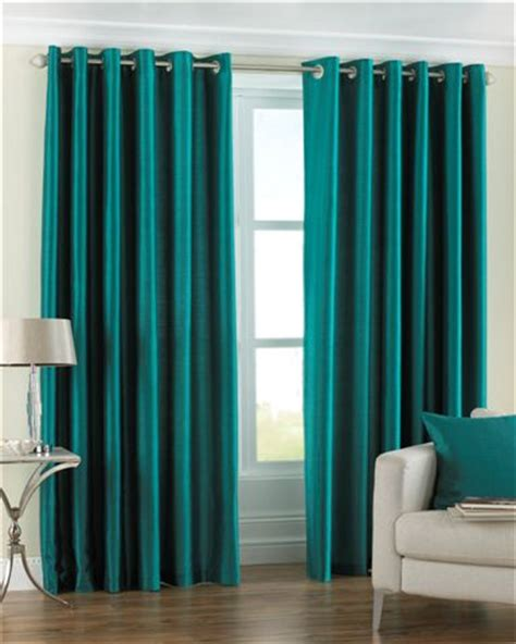 Teal Taffeta Curtains Fiji Teal Lined Curtains