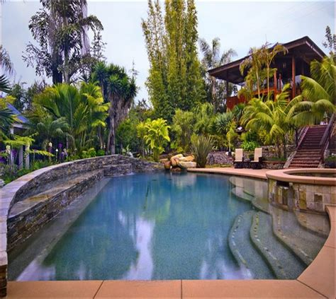 Backyard Pools In Arizona Small Backyard Pool Landscaping In Arizona Home Design Ideas