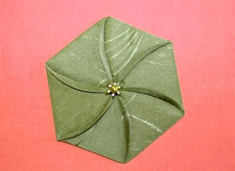 Fabric Origami Flowers - origami watches and on