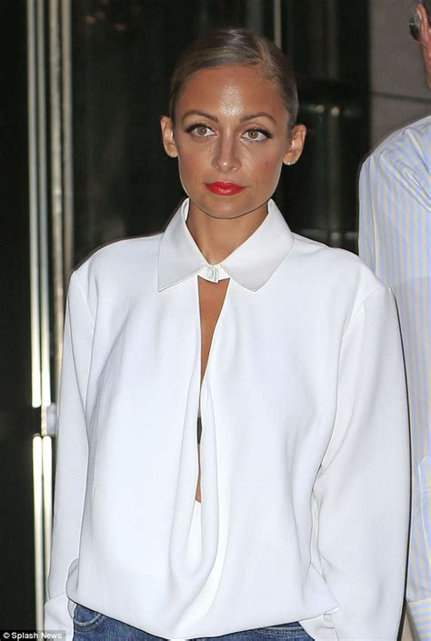 Blouse Richie richie looks effortlessly cool in a voluminous white shirt daily mail