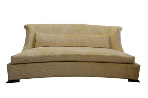 Grayson Sofa Bed by Grayson Curved Sofa Chairish