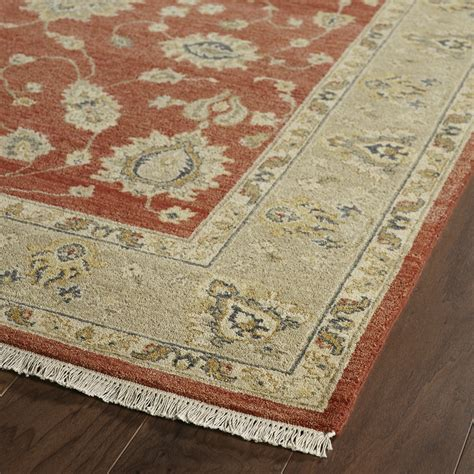 wayfair rugs rosalind wheeler barge knotted area rug wayfair