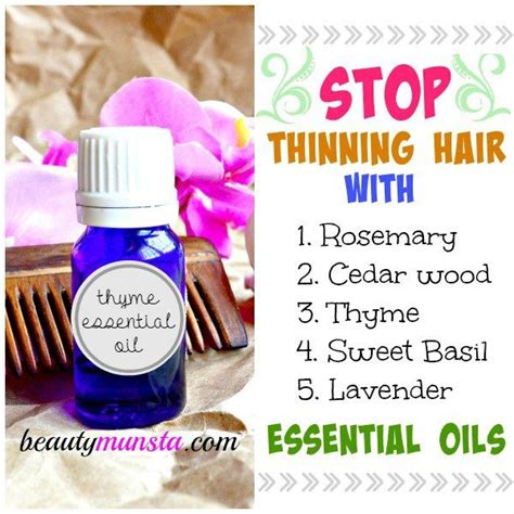 essential oils for hair growth and thickness 25 best ideas about thinning hair remedies on pinterest