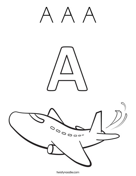letter a coloring pages for toddlers pinterest letter a