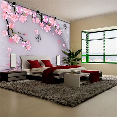 wall murals for room butterfly blossom floral wallpaper mural rolls hotel living room cafe