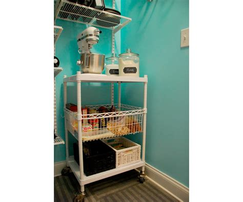 Pantry Cart by A Walk In Pantry Makeover