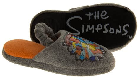 boys slippers size 13 new boys bart slipper the simpsons slippers