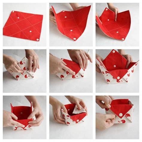 Origami Baket Bunga fabric storage organizer basket origami box organizer