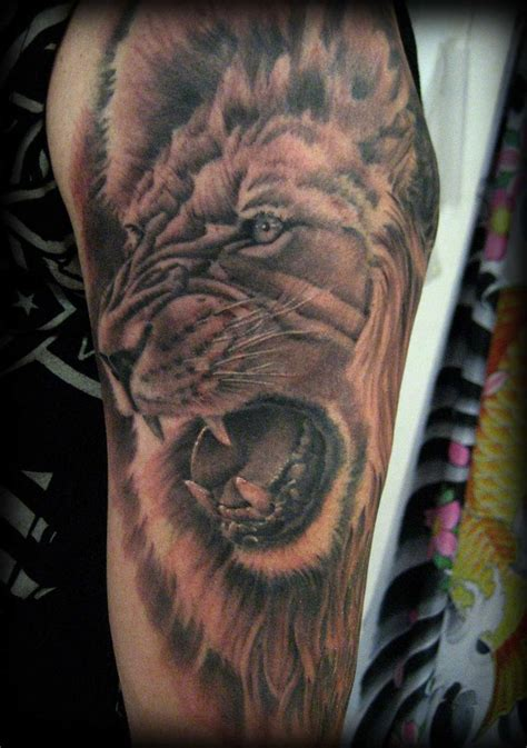 lion of judah tattoo of judah tattoos for men1