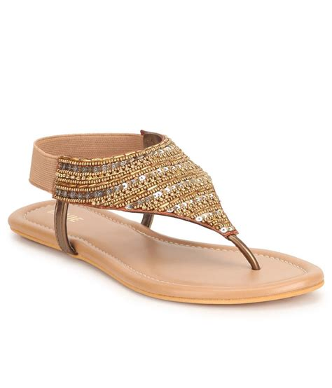 best offers on sandals lavie gold flat sandals snapdeal price sandals deals at