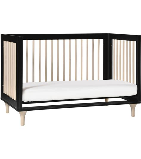 Black Toddler Bed by Babyletto Lolly 3 In 1 Convertible Crib With Toddler Bed