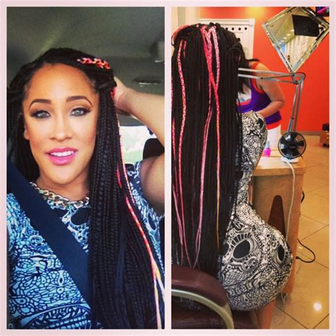 celebrities with box braids 15 celebrity box braids to inspire your next style page