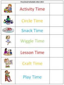 preschool schedule template magic how we set up our preschool