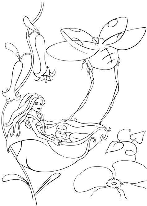 coloring pages of barbie fairytopia we4you2 the most complete site barbie fairytopia magic