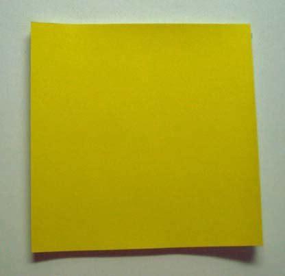 Yellow Origami Paper - yellow origami paper 50 sheets n8288