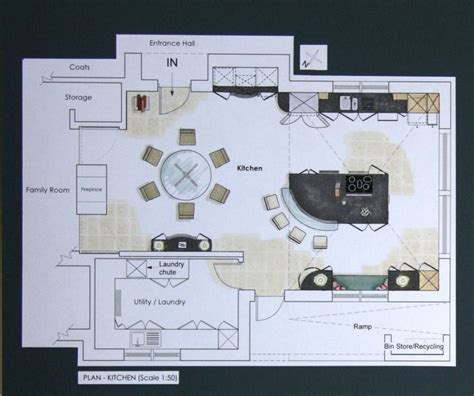 Kitchen Dining Room Floor Plans by 20 Best House Plans Images On Pinterest Kitchens Open