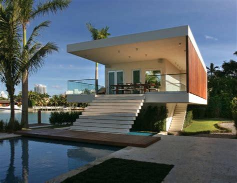 Moderne Pavillons by Moderne Exklusive Luxusvilla In La Gorce Miami