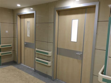 Hospital Door by Hospital Hygienic Doors With Glass Window