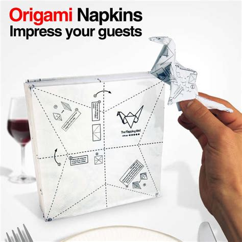 Origami With Napkins - origami napkins iwoot