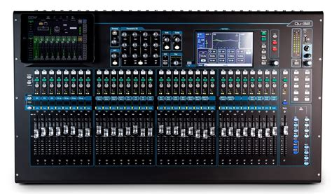 Mixer Allen And Heath allen and heath qu series 32 ch digital mixer for live studio and installation soto