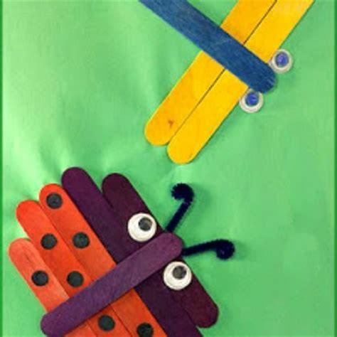 craft stick projects for preschoolers 17 best images about knutselen met ijslollystokjes on