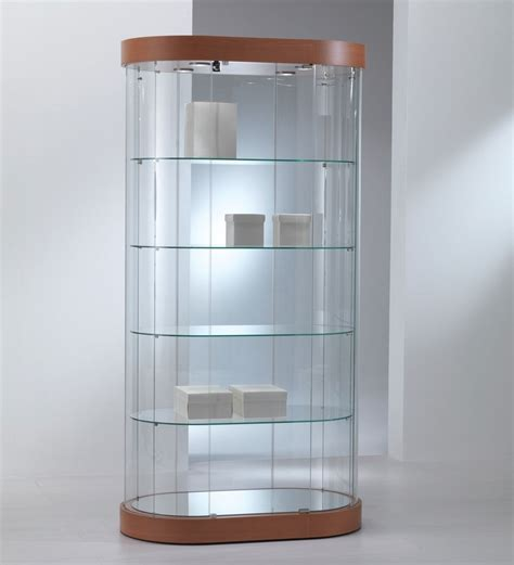 Glass Display Showcases, Cabinets, Counters, Stands