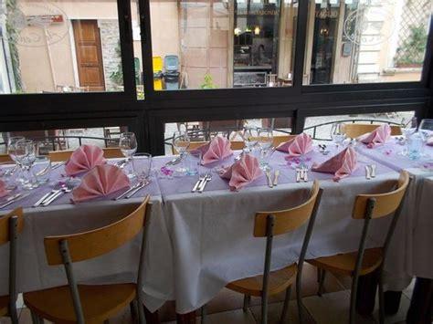 tavola ristorante tavola per cerimonia in osteria photo de restaurant al