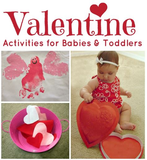 babies valentines s day activities for babies and toddlers the
