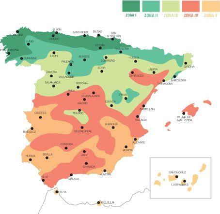 zonas climaticas de espana las zonas clim 225 ticas de espa 241 a caldera condensaci 243 n