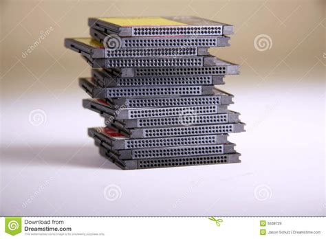 Memory Macro Compact Flash Memory Cards Macro Royalty Free Stock Images