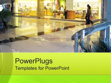 powerpoint themes retail powerpoint template a beautiful depiction of a shopping