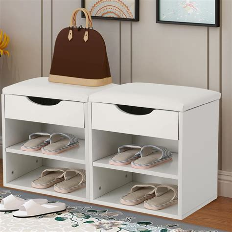 amelia shoe storage bench white shoe storage bench best storage design 2017