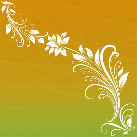 Abstrak Floral 1 floral abstract background vector free