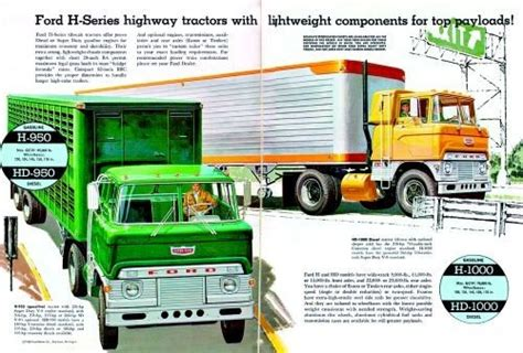 ford h 1961 65 ford h series cabovers the two story falco