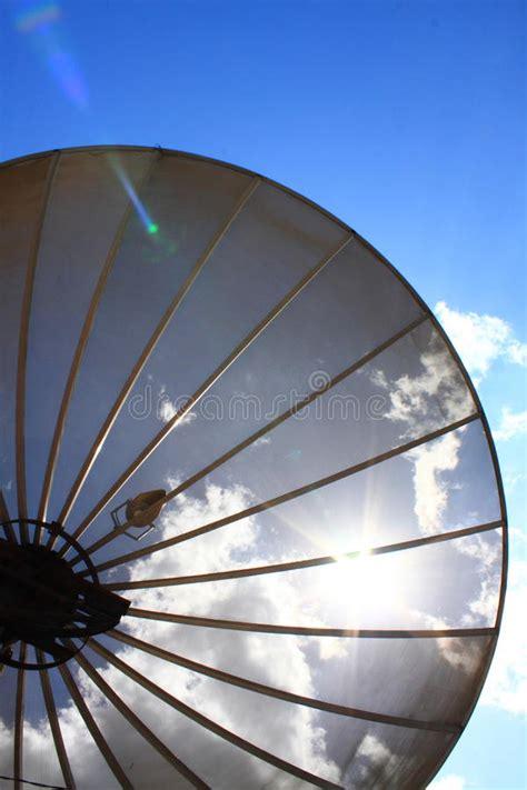 Parabola 4 Satelite parabola satellite antenna royalty free stock images