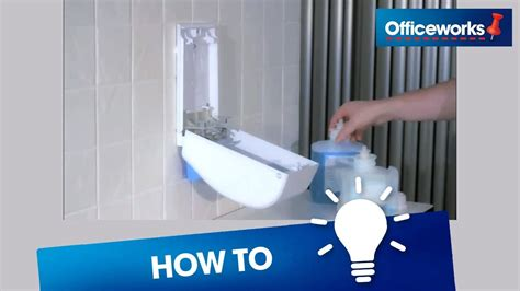 deb  instantfoam hand sanitiser dispenser replace cartridge youtube