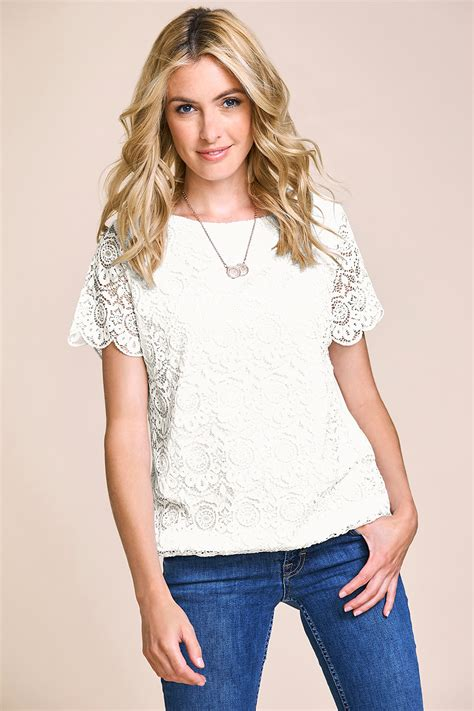 boat neck tops uk boat neck lace top with jersey back