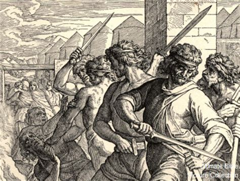 genesis 34 bible pictures dinah s brothers slay shechem