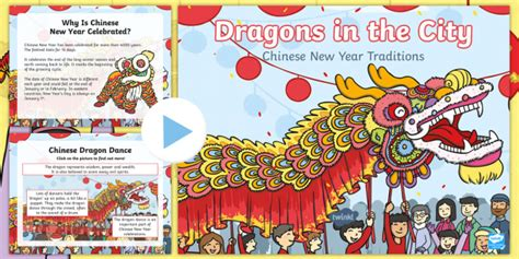 new year powerpoint for ks2 dragons in the city new year traditions powerpoint