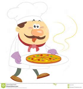 cook with cartoon cook with white background stock image image 32137761